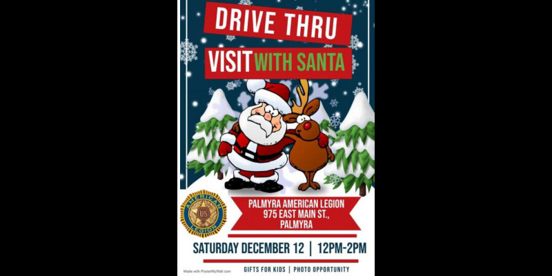Image for Drive Thru Visit With Santa