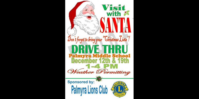 Image for Additional Drive Thru Visit With Santa